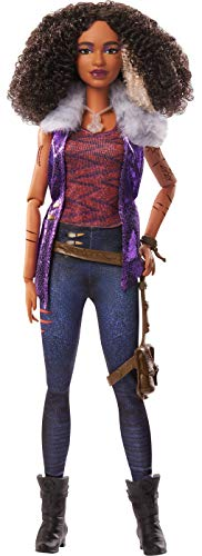"""Zombies Disney's 2, Willa Lykensen Werewolf Doll (11.5-inch) Wearing Rocker Outfit and Accessories, 11 Bendable """"Joints,"""" Great Gift for Ages 5+"""