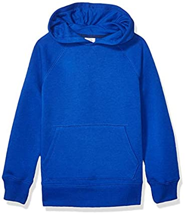 Amazon Essentials Pullover Hoodie Sweatshirt Fashion, Azul (Royal Blue), ((Talla del fabricante: 4T)