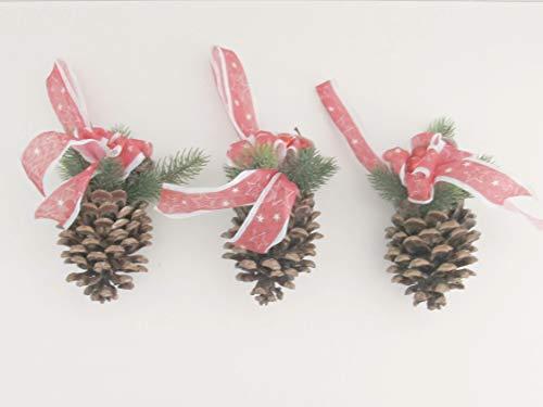 Saisonale Dekoration in Rot Orangen, Kienzapfen, Weihnachten, Advent, Orangen, Tanne, Schleifen, Beeren,