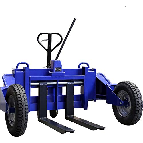 Transpaleta todoterreno - Transpaleta manual - Transpaleta todoterreno con una capacidad de carga de 1500 kg