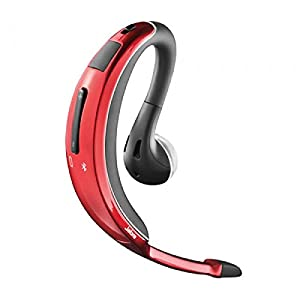 Jabra Wave Bluetooth Headset- Red [Retail Packaging]