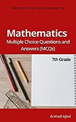 Math MCQs - Grade 7 Math Quiz Questions - MCQs Answers