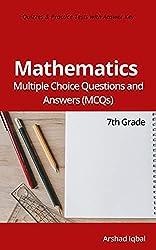 7th Grade Math MCQ Download (135 MCQs)