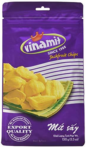 Vinamit Jackfruit Chips, 3er Pack (3 x 150 g Packung)
