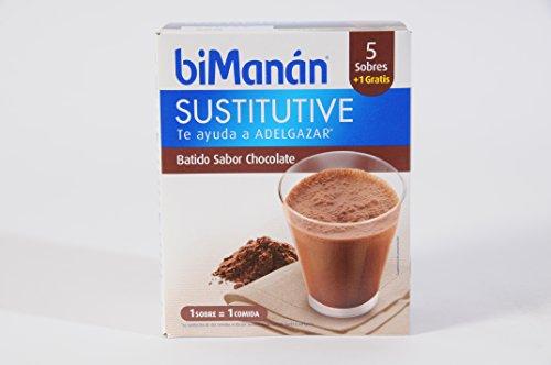 Bimanán - Batidos chocolate menú sustitutive bimanán