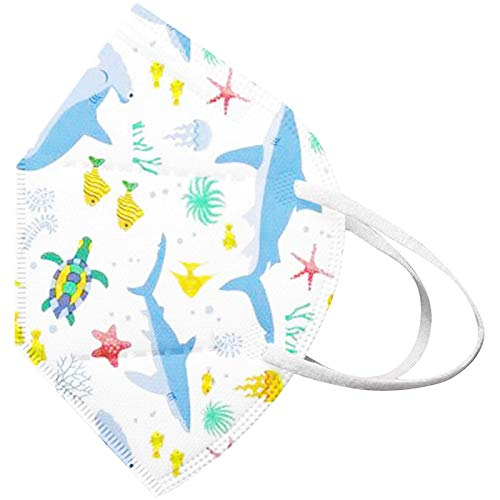 Koippimel Face_Mask for Kids, Cute Cartoon Printed_Disposable Face_Masks, 5-Ply Non-Woven, 20pcs, 0217_43