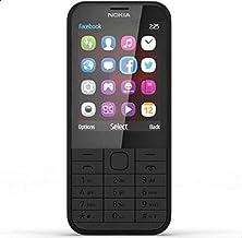 نوكيا 225 دوال سيم - لوحة مفاتيح، شاشة ال سي دي 2.8 انش، كاميرا 2 ميجابيكسل، اسود