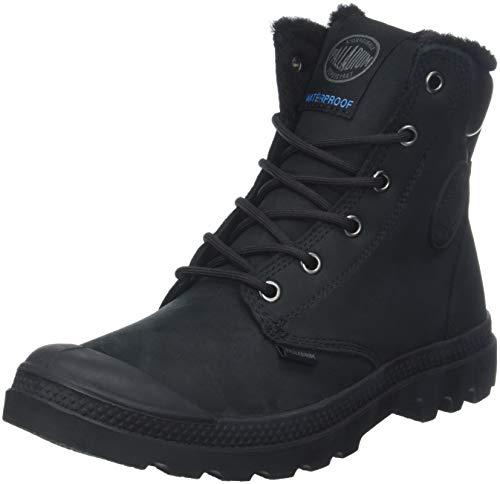 Palladium Pampa Sport Shearling Waterproof, Unisex-Erwachsene, Klassische Stiefel, Schwarz (Black 466), 44 EU