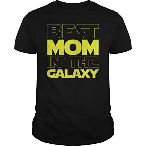 Rockboy La Mejor mamá en la Camiseta del día de Madres Galaxy...