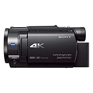 Sony FDR-AX33 4K Ultra HD Handycam with Exmor R CMOS sensor (B00WWPSZ76) | Amazon price tracker / tracking, Amazon price history charts, Amazon price watches, Amazon price drop alerts