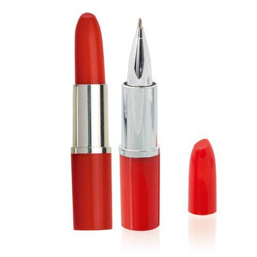 DISOK - Lote 10 Bolígrafos Pintalabios Rojo
