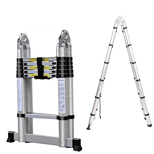 Ladder a Ladder Two Ladder Stool Barstool Small Ladder Mini Stretch Aluminum Unilateral Ladder Fire Ladders Jobs Multifunction Safety Bars