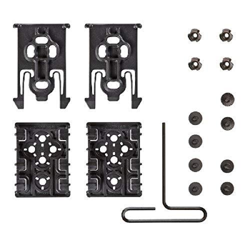 9006524 Safariland Equipment Locking System Kit,Plain Black