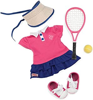 Our Generation Dolls Ace' D It! Tennis Outfit for Dolls, 18