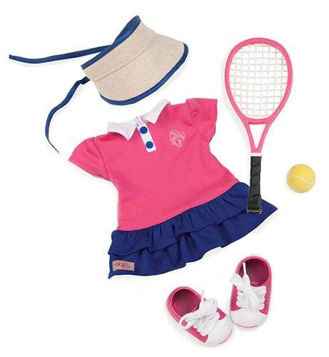 Our Generation 44446 BATTAT Tennis Outfit