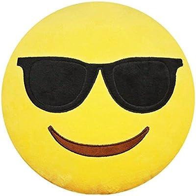 Amazon.com: YINGGG Emoji Pillow Keychain Emoticon Soft ...