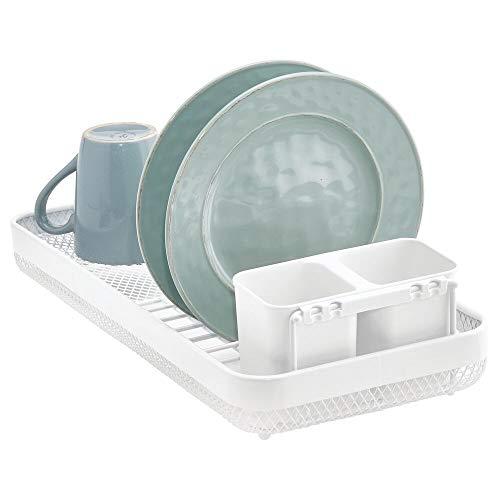 bronzo Organizer per posate da cassetto ideale anche per altri utensili da cucina mDesign Porta posate universale in metallo Portaposate per cassetti della cucina