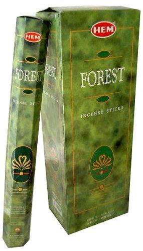 HEM - Forest Incense Sticks Agarbatti -Pack of 6-180g