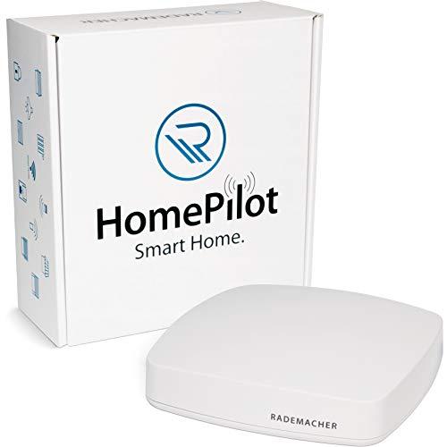 Rademacher HomePilot 9496-3 - Pieza Central para tu hogar Inteligente, Control de Dispositivos DuoFern y Philips Hue (con Control de Voz de Google y Alexa), Color Blanco