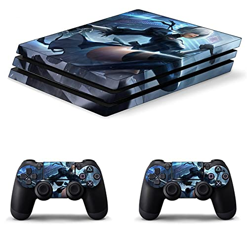 Nier Automata PS4 Controller Skin Anime for Playstation 4 Vinyl Sticker Compatible for PS4 Pro Decal Cover Bubble-Free Game Skin