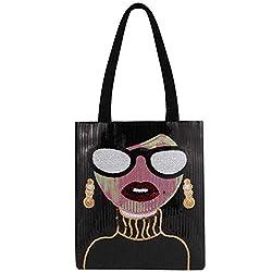 Type 4 Tote Bag Fashionable Sequin Handbag