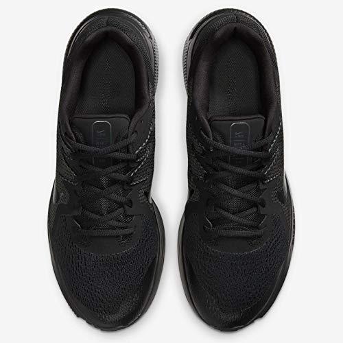 Nike Zoom Span 3, Zapatillas para Correr Hombre, Black Black Black Anthracite, 44.5 EU