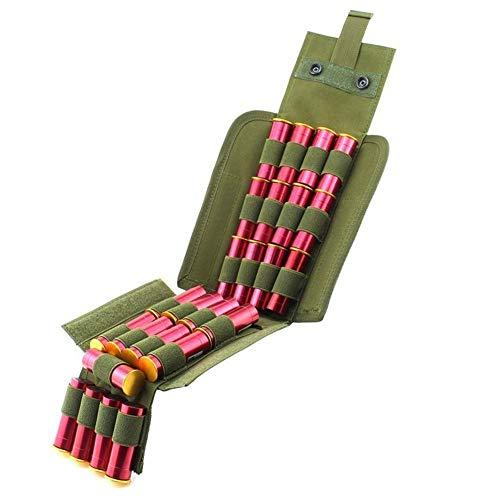 Baifeng recomienda productos 26 redondos táctico Shotshell Molle bolsa soporte plegable rápido acceso escopeta cartucho