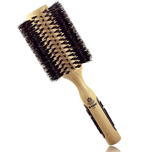 Kent - Natural Shine - Brosse à cheveux ronde - Poils naturels - 70 mm