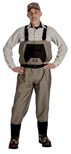 Caddis Men's Taupe Affordable Breathable Stocking...