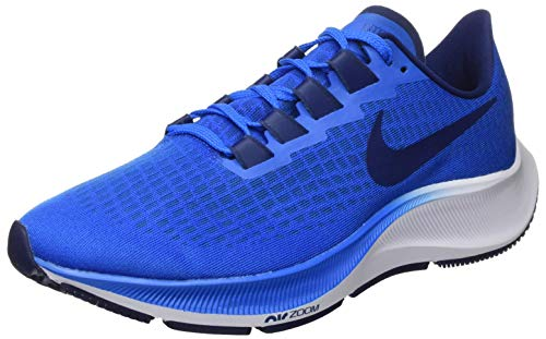 Nike Men's Air Zoom Pegasus 37 Running Shoe, Photo Blue/Blue Void-White, 9.5 UK