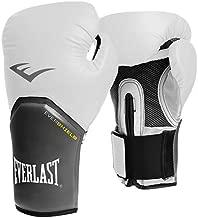 Everlast EVER-2772 Pro Style Elite Training Gloves, White/Black