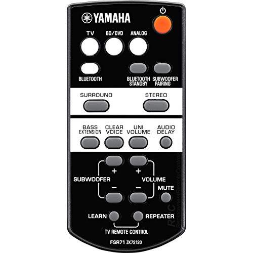 OEM Yamaha Remote Control Supplied with YAS203, YAS-203, FSR71