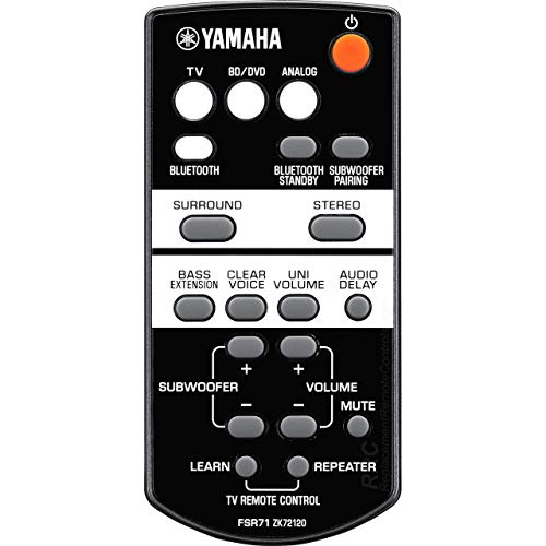 OEM Yamaha Remote Control Supplied with YAS203, YAS-203, FSR71