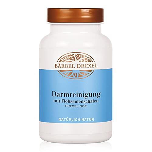 BÄRBEL DREXEL® Darmreinigung mit Flohsamenschalen Presslinge – Verdauung anregen, Kräuter + Amlafruchtpulver + Myrrhenharzpulver (180 Stk) Verdauungsprobleme