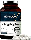Advanced Sleep Aid L-Tryptophan Supplement, Tryptophan 500mg Per Pill, 1500mg Per Serving, 240 Capsules. Strongly Supports Restful Sleep, Relaxation and Serotonin Conversion, Premium Tryptophan for Sleep. Powerfully Supports Positive Mood and Mind, T...