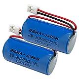 【2個セット】Panasonic パナソニック 対応 SH384552520 互換 電池 住宅火災警報器 専用 リチウム電池 ロワジャパン