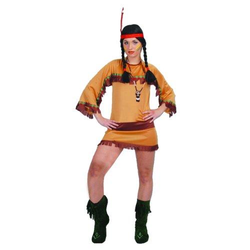 Disfraz de india del gran can sexy - Estndar