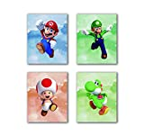 N/Y Super Mario Kunstdrucke Toad Super Mario Drucke