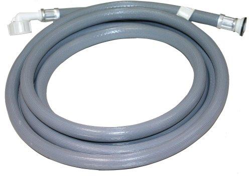 Aerzetix: 2.5m Schlauch für Waschmaschine Wasserschläuche Waschmaschinenschlauch