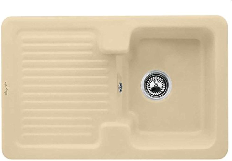 Villeroy & Boch Condor 45 Sand Keramik-Spüle Beige Küchenspüle Auflagebecken