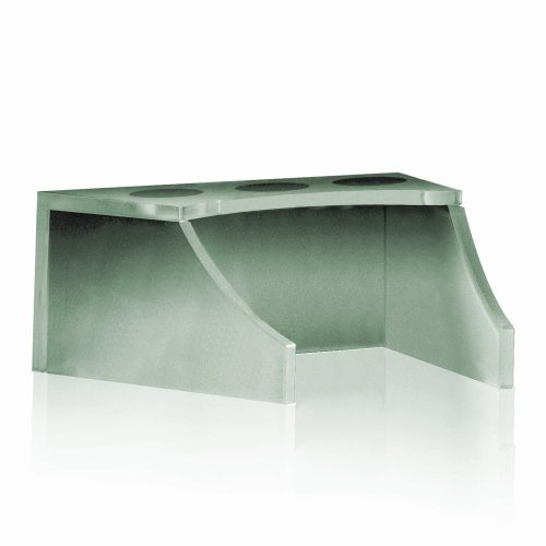 DECOLAV 9400T-GR Faucet Stand with Tempered Frosted Glass, Green
