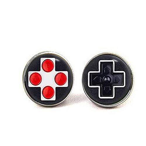 Gamecontroller-Ohrringe, Joystick-Ohrringe, Videospiel-Konsolen-Schmuck, Kunst-Geschenke, Charm-Schmuck