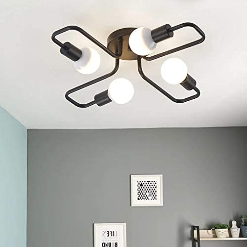 BABYCOW Moderna lámpara de Techo LED para iluminación, Sala de Estar, Dormitorio, candelabros, Accesorios de iluminación creativos para el hogar