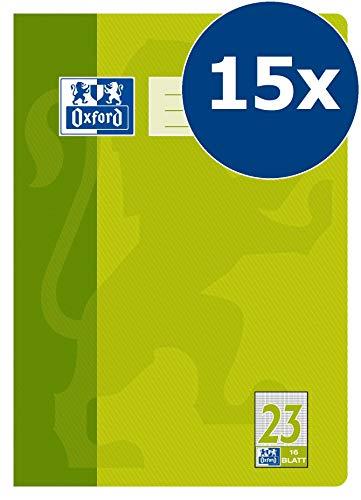 OXFORD 100050309 - Cuaderno de laboratorio (A4, 15 unidades)