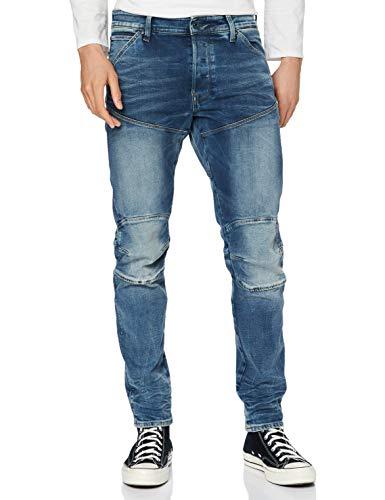 G-STAR RAW 5620 3D Slim Jeans, Antic Faded Kyanite C296/B990, 33W / 32L Uomo