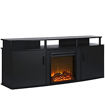 Ameriwood Home Carson Electric Fireplace TV Console TVs