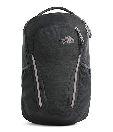 The North Face Women's Vault Backpack, Asphalt Grey Light Heather/Ashen Purple, One Size