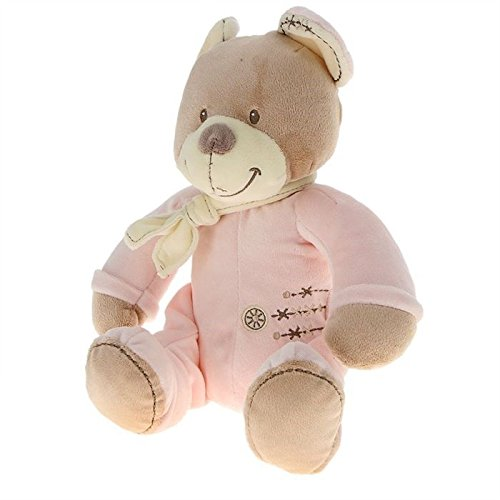 NICOTOY Peluche Cuddles Ours Rose 25 cm