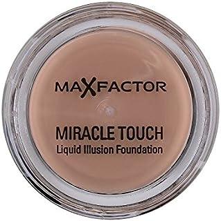 マックスファクターの奇跡のタッチ基盤の自然70 x4 - Max Factor Miracle Touch Foundation Natural 70 (Pack of 4) [並行輸入品]