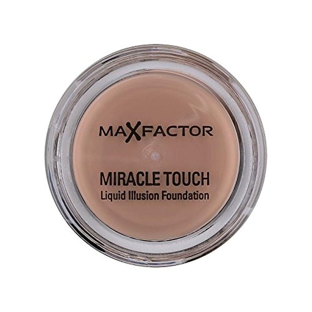 株式会社スラック忌まわしいMax Factor Miracle Touch Foundation Natural 70 - マックスファクターの奇跡のタッチ基盤の自然70 [並行輸入品]